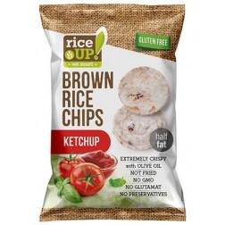 Rýžové chipsy s kečupem 60g REJ