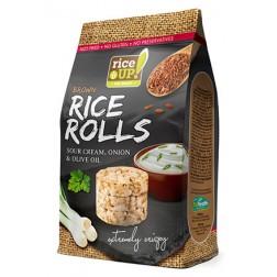 Rýžové minichlebíčky smetana s cibulí 50g RICE UP