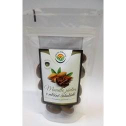 Mandle v mléčné čokoládě 150g SALVIA PARADISE