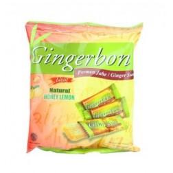 Bonbóny Gingerbon Zázvorové s medem a  citrónem 125g