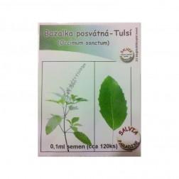 Bazalka posvátná - Tulsí semena 0.1ml cca 120ks
