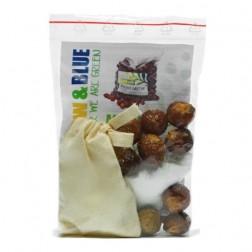 Mýdlové ořechy TESTOVACÍ SADA Yellow Blue