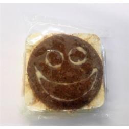 Smajlík celozrnný ovocný chlebík karotka 35g Natural Food