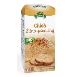 Chléb žitno-pšeničný (směs na pečení) BIOLINIE 400g