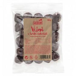 Višně v hořké čokoládě Medium 100g