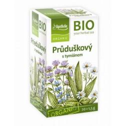 Čaj Průduškový s tymiánem 30g BIO MEDIATE
