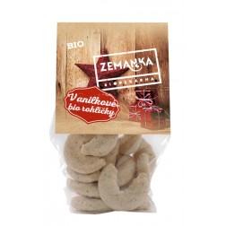 Vánoční vanilkové rohlíčky BIO 100g Zemanka