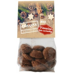 Vánoční sušenky s vlašskými ořechy BIO 100g Zemanka