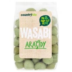 Arašídy WASABI 100g COUNTRY LIFE