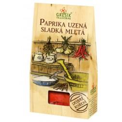 Dobré koření Paprika UZENÁ sladká mletá 30g GREŠÍK