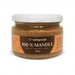 100% mandlové máslo 250g Nutspread