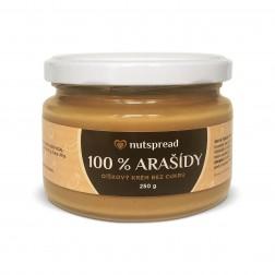 100% arašídové máslo 250g Nutspread
