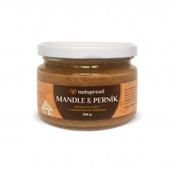 100% mandlové máslo s perníkovým kořením 250g Nutspread