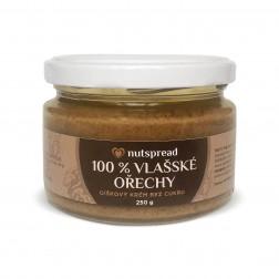 100% máslo z vlašských ořechů 250g Nutspread
