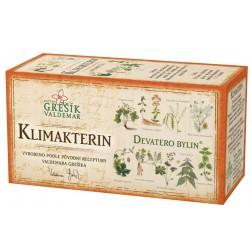 Klimakterin bylinný čaj 20x1g GREŠÍK - porcovaný