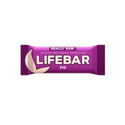 Tyčinka Lifebar fíková BIO RAW 47g