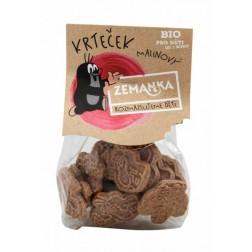KRTKOVY MALINOVÉ BIO sušenky 100g Zemanka