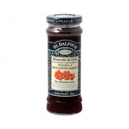 Džem ovocný MALINA+GRANÁTOVÉ JABLKO 284g ST. DALFOUR