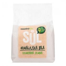Himalájská bílá sůl jemná 500g Country Life