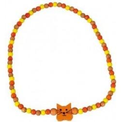 Dětský náhrdelník kočka DETOA
