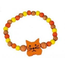 Dětský náramek kočka DETOA