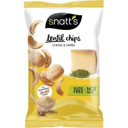 Chips Snatts Lentils čočkové se sýrem a bylinami 85g