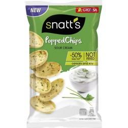 Chips Snatts Popped smetana a cibule 75g