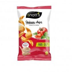 Chips Snatts Quinoa s rajčaty a bazalka 85g