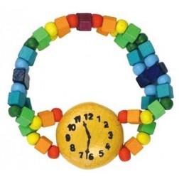 Dětský náramek hodinky duhové DETOA