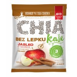 Kaše Semix Chia jablko a skořice bez lepku 65g