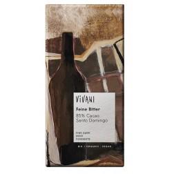 Čokoláda VIVANI hořká čokoláda 85 % BIO 100g
