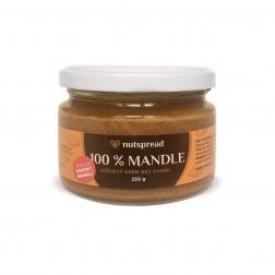 100% mandlové máslo  S KOUSKY MANDLÍ 250g Nutspread