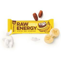 Tyčinka BOMBUS RAW ENERGY Banán+kokos 50g