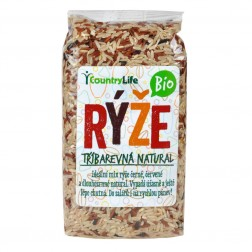 Rýže tříbarevná 500g BIO COUNTRY LIFE