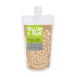 Prací gel z mýdlových ořechů PRO FUNKČNÍ SPORTOVNÍ TEXTIL s přídavkem koloidního stříbra 250ml Yellow+Blue