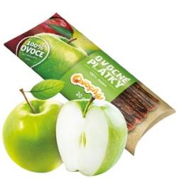 Ovocné PLÁTKY 100% jablko 20g Ovocňák
