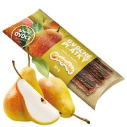 Ovocné PLÁTKY jablko+hruška 20g Ovocňák