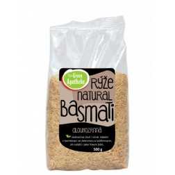 Rýže Basmati dlouhozrnná NATURAL 500g Green Apotheke