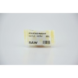 KOLECKO RAW Natural datle+kešu 30g
