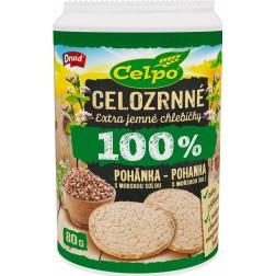 Celpo vícerznný chlebíček 100% pohanka s mořskou solí 80g