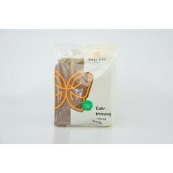 Cukr třtinový TMAVY jemný 500g NATURAL JIHLAVA