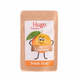 Žvýkačky HUGO bez aspartanu Fresh FRUIT 9g