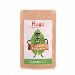 Žvýkačky HUGO bez aspartanu SPEARMINT 9g