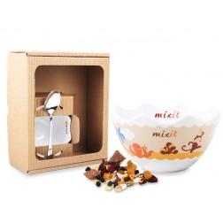 Dětská miska v dárkovém boxu (bez tubusu) Mixit