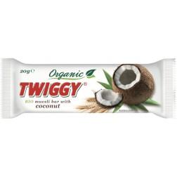 Tyčinka müsli kokos 20 g BIO TWIGGY