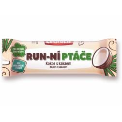 Tyčinka LeGracie Run-ní ptáče Kokos s kakaem 35g