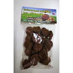 Celozrnné sušenky kokos a kakao bez přidaného cukru 100g
