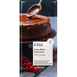 Hořká čokoláda na vaření VIVANI 200g BIO