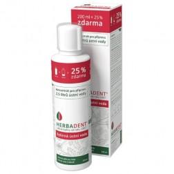 Ústní voda Herbadent bylinná KONCENTRAT 250ml