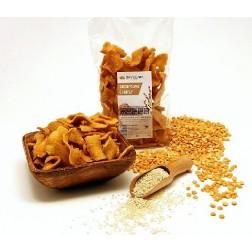 Chipsy SEZAMOVÉ 150g Damodara (VELKÝ sáček)